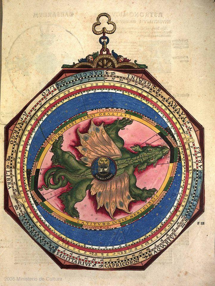 Astronomicum caesareum, 1540   Petrus Apianus