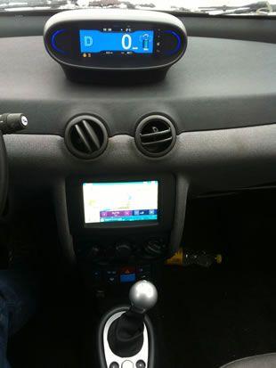 Intérieur Bluecar Autolib\' et ses 2 modes: Normal et Ice. | Green ...