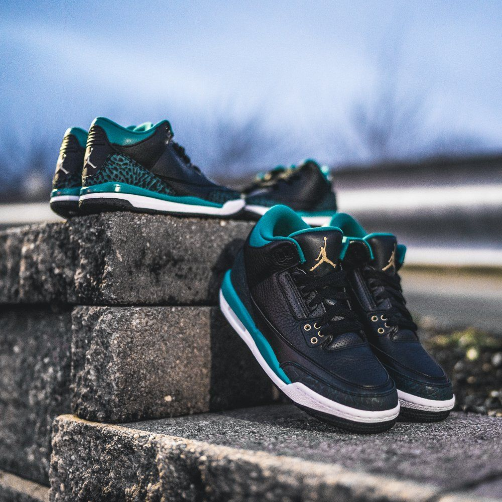 Air Jordan 3 Retro (Kids) « Rio Teal » Credit : KicksUSA #Nike