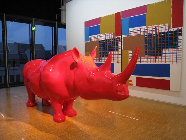 Rhino du Centre Pompidou