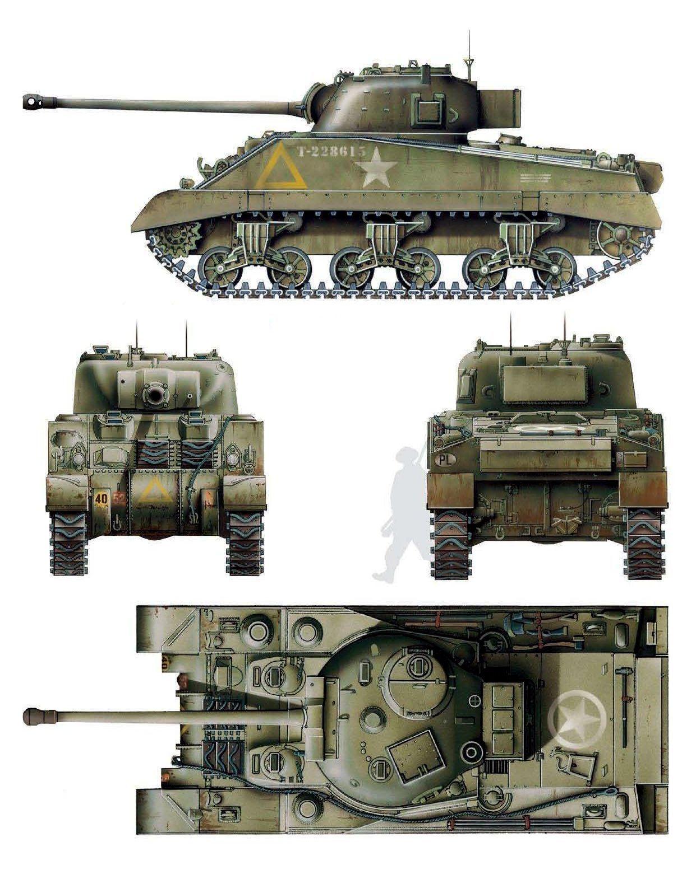 Sherman IC British Firefly   Tanks/Armored Vehicles   World