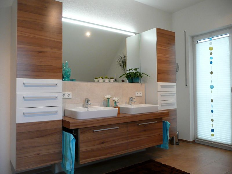 billige badmobel, billig badmöbel holz | deutsche deko | pinterest, Design ideen