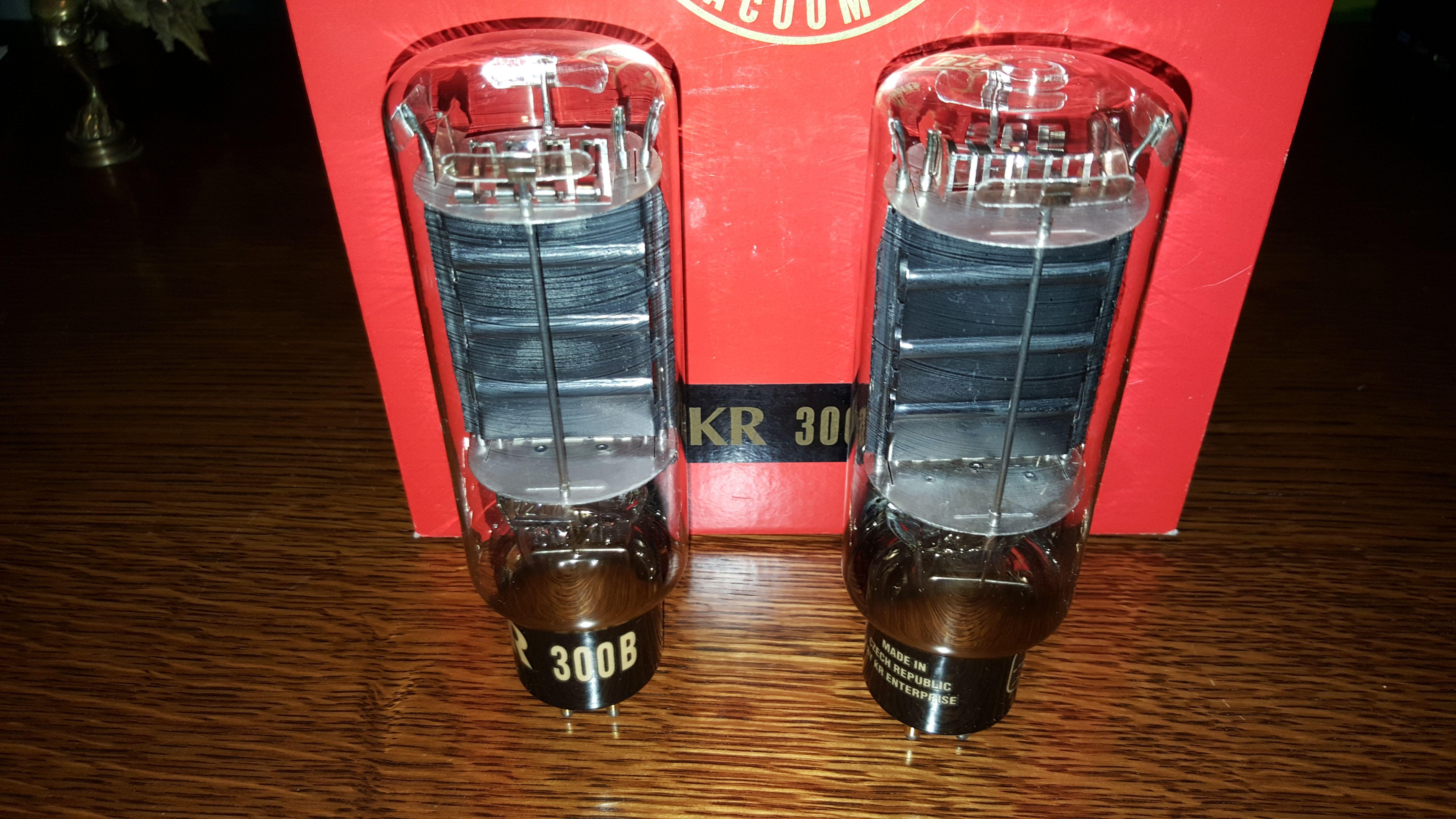 Rare straight bottle KR 300B  Not a bad sounding tube, a bit stiff