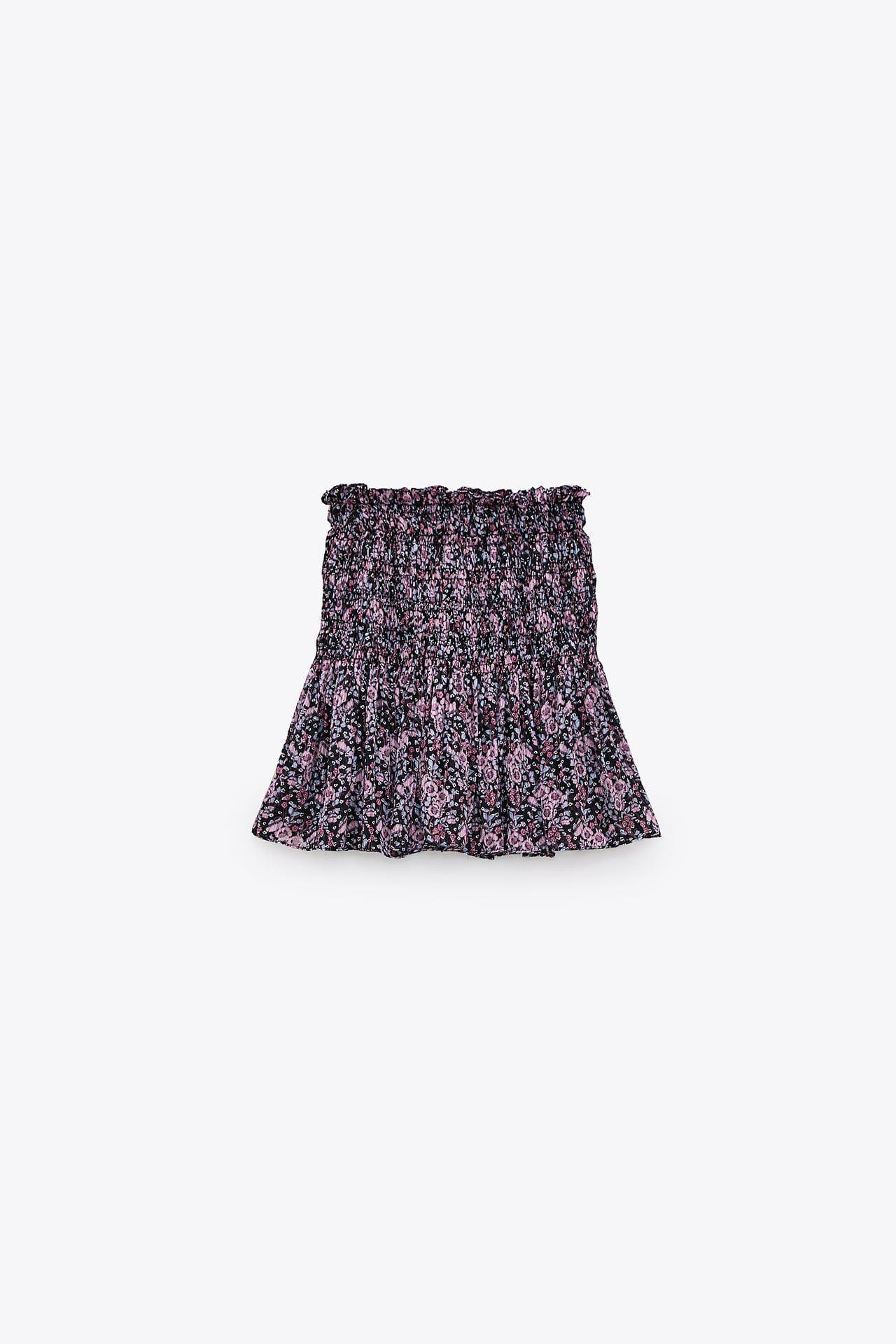 Printed Mini Skirt Zara United States In 2020 Mini Skirts Fashion Clothes Women Skirts