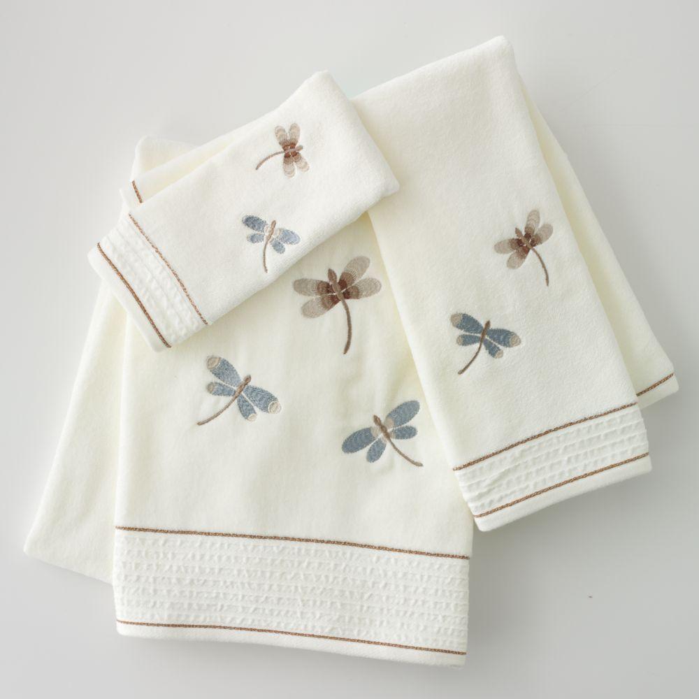 Home Classics® Shalimar Dragonfly Bath Towels
