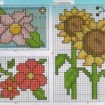 graficos-ponto-cruz-flores-gratis