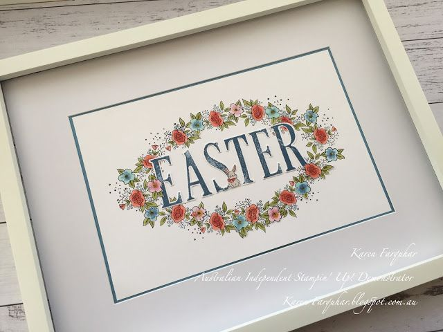 Easter gifts easter karen farquhar easter gifts stampin up negle