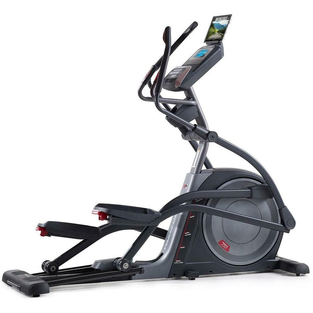 Ad Ebay Proform 9 0 Ne Elliptical Elliptical Trainers Exercise