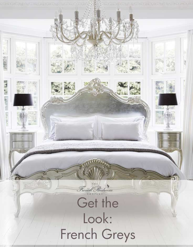the french bedroom company blog get the look french grey behind the scenes stylists tips on getting our look from our silver serenity french bed photo - French Bedroom