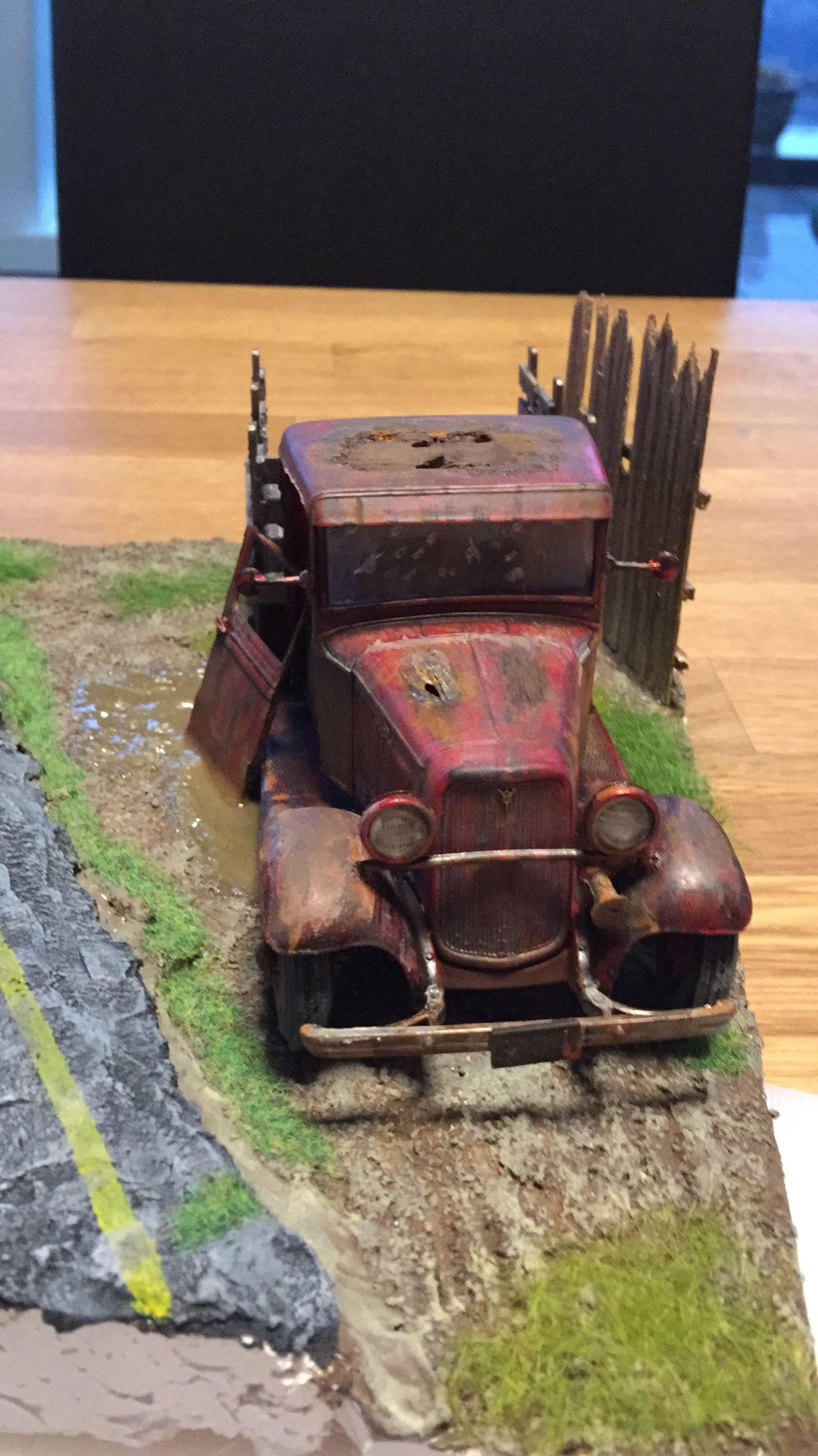 Old car 1/24