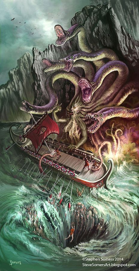 Caught Between The Scylla And Charybdis By Stephen Somers