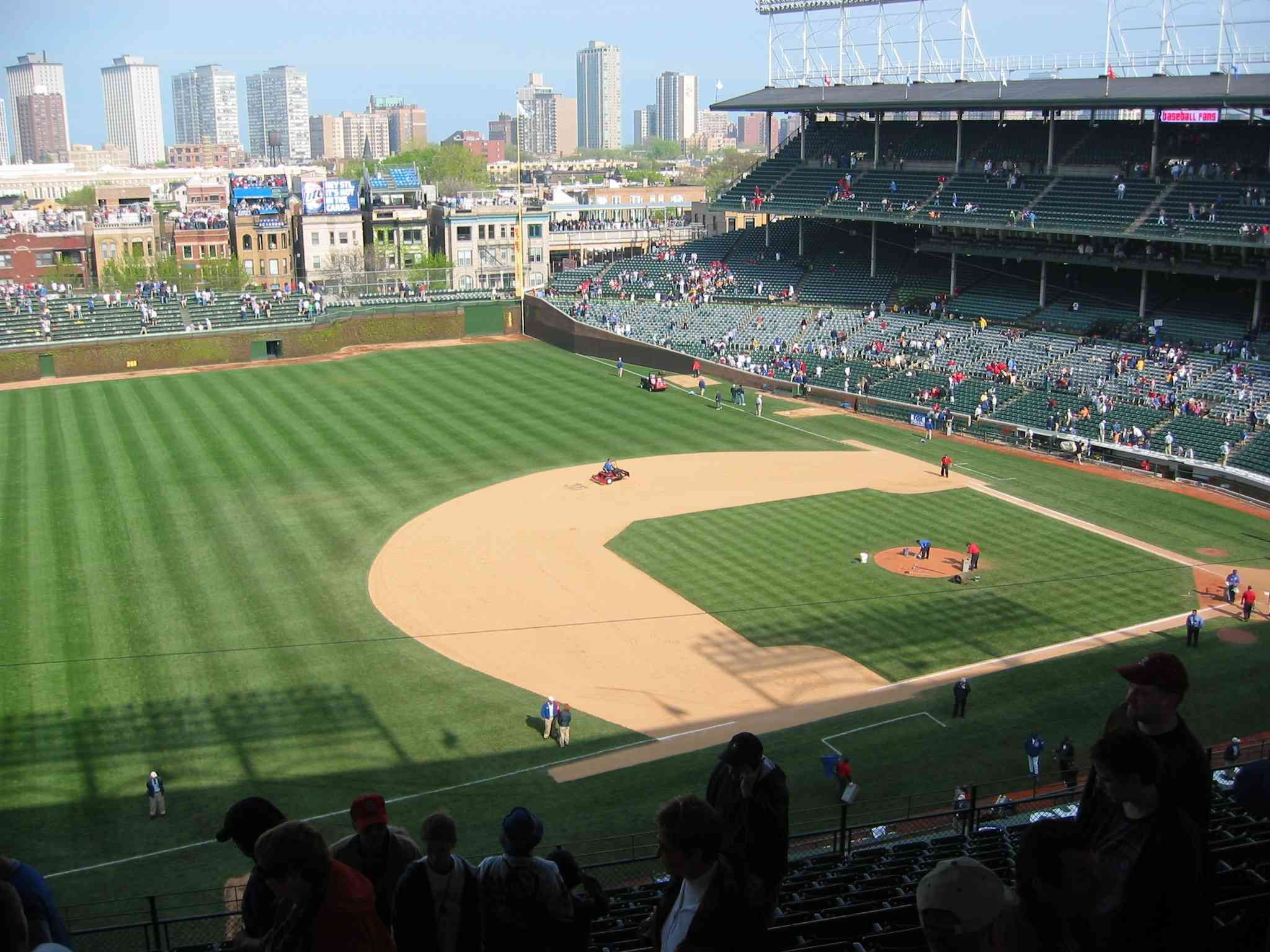 Wrigley what a beautiful place Chicago Cubs