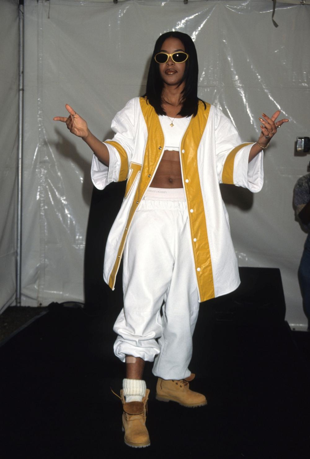 Aaliyah 1995 | Tumblr #aaliyahfashion