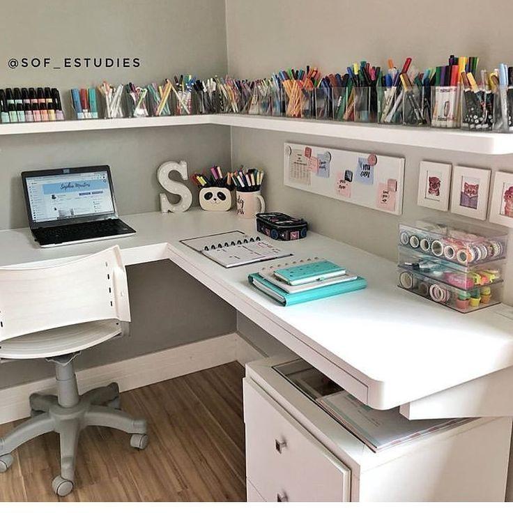 "Inspiration Home auf Instagram: ""Sof_estudies Study Corner"