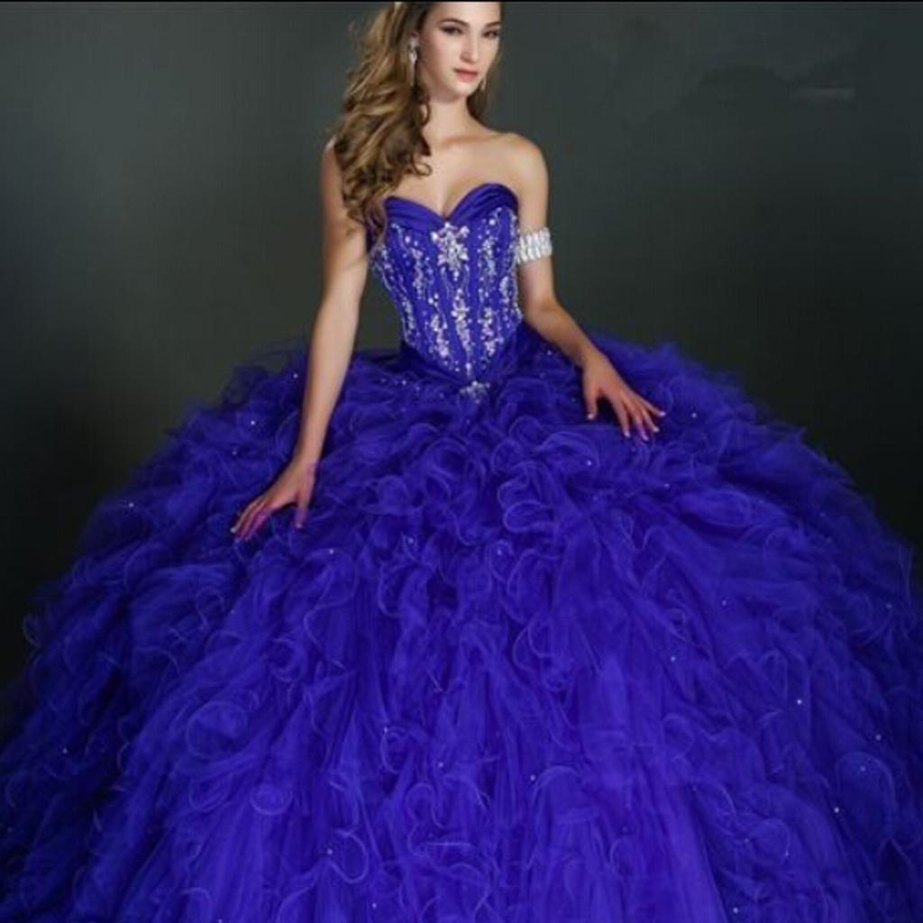 Actual Image Coral Quinceanera Dresses Vestidos De 15 Anos Pearls ...