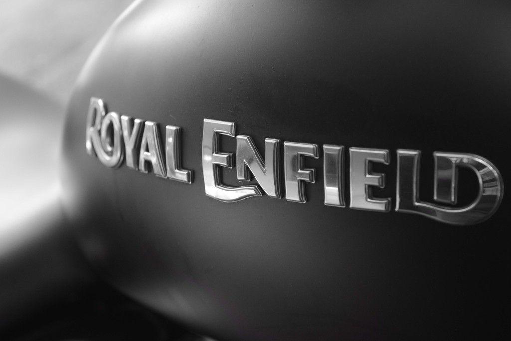 Bike Bullet Royal Enfield Monochrome Logo Wallpaper Bike