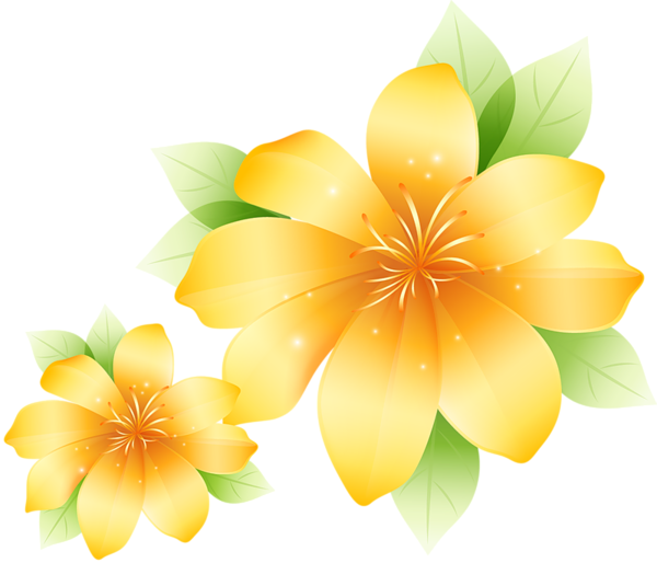 Large Yellow Flower Clipart Flowers Flowers Flower Clipart