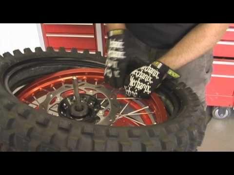 Make Tire Changing Easier Tire Change Dunlop Tires Motocross