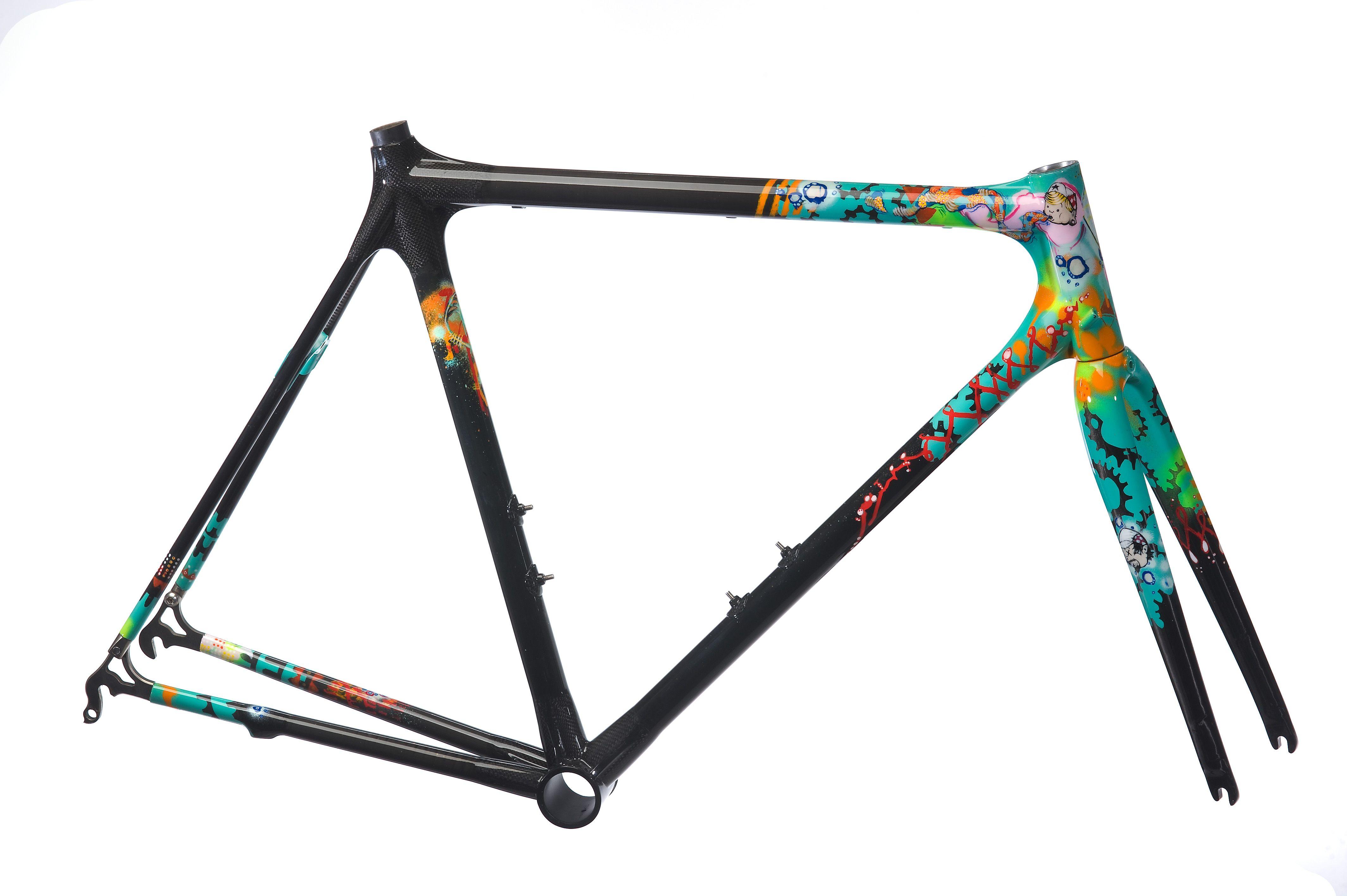 bicycle painted frame - Google pretraživanje   bicikle   Pinterest ...