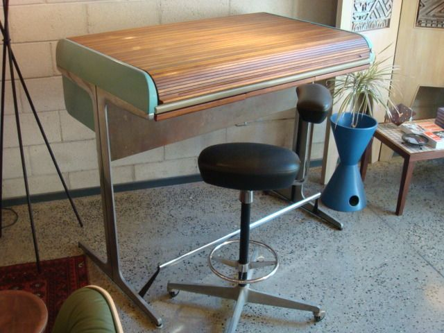George Nelson Herman Miller Mid Century Action Office Desk And Perch Eames Era