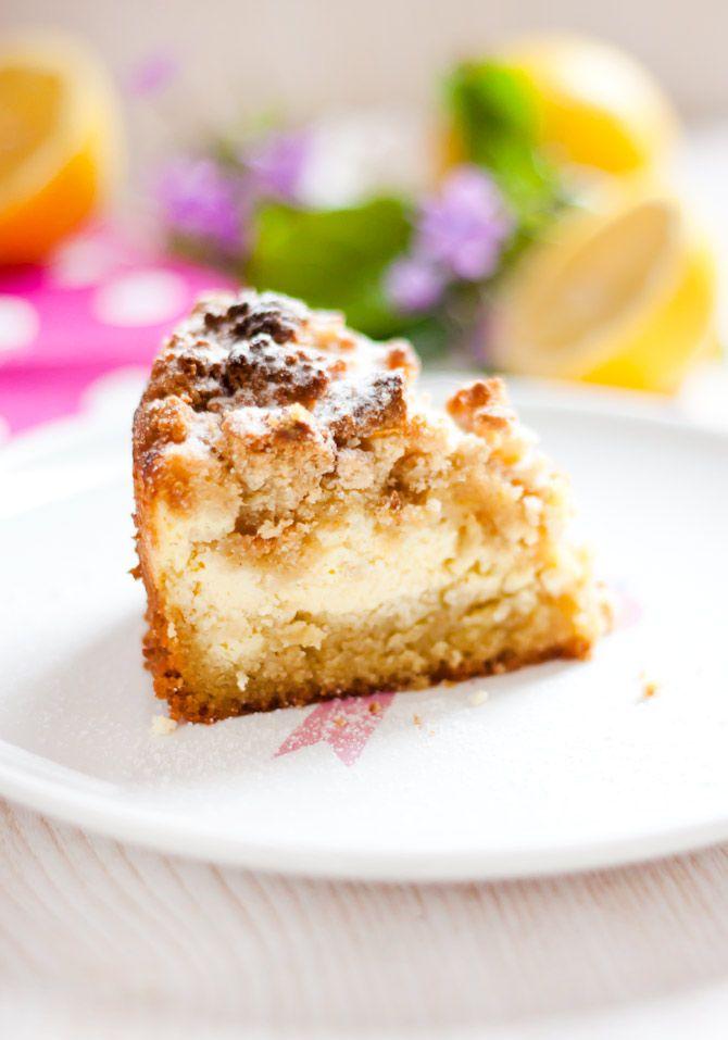 Low Carb Zitronen Streuselkuchen Backen Pinterest Kuchen