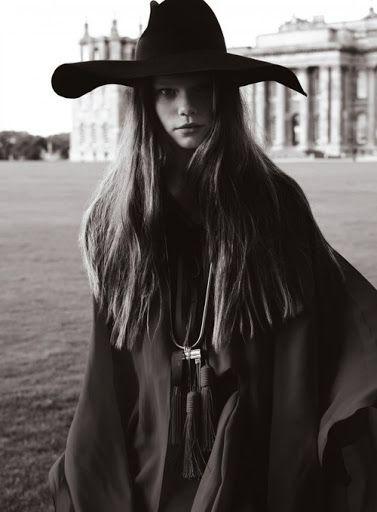 black & white   hat   hair   cloak   photography   fashion