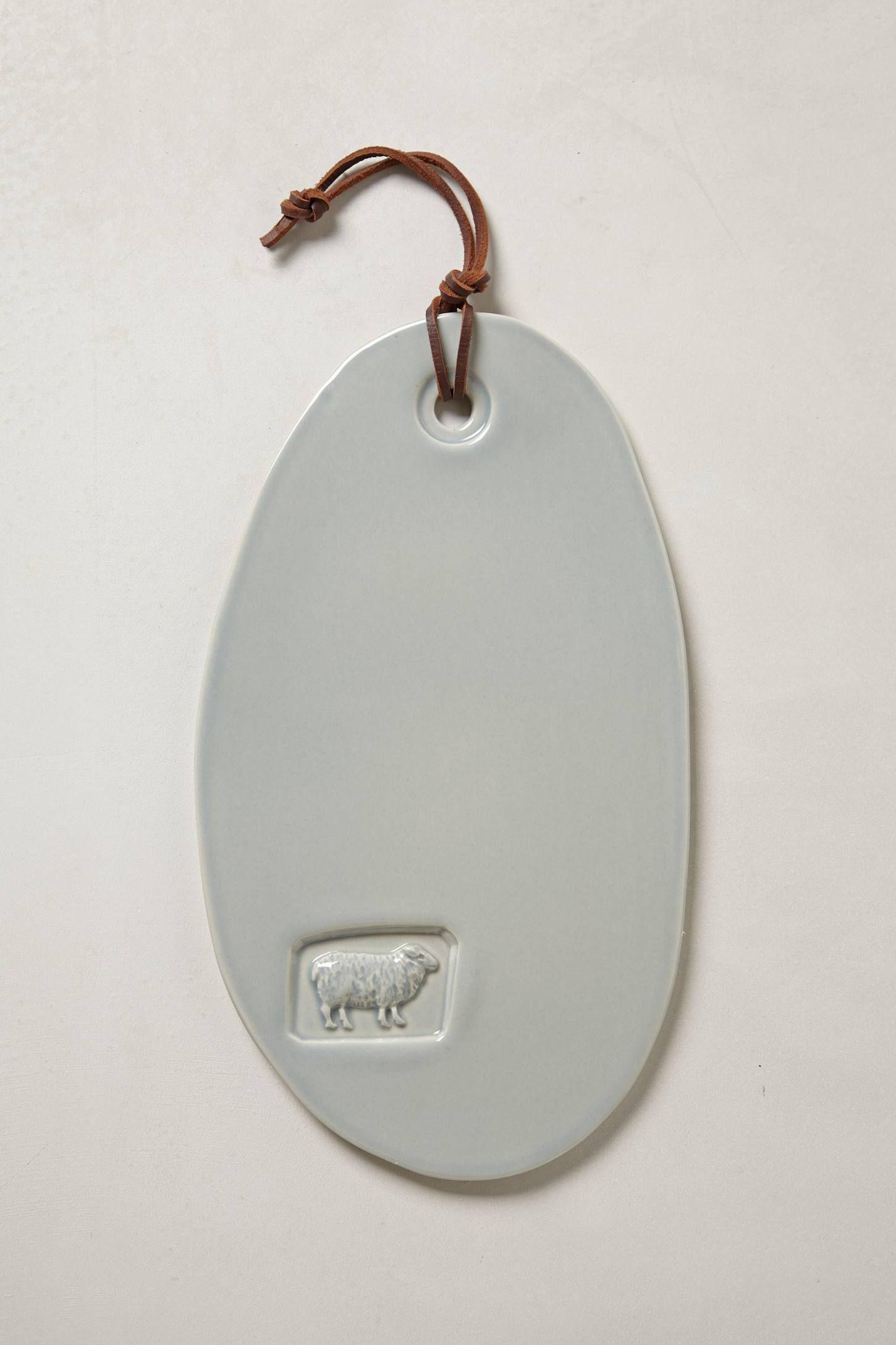 Stoneware Cheese Board - Sheeps' Cheese - anthropologie.eu
