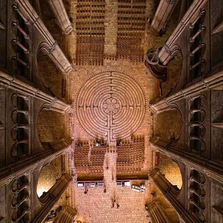 Il celebre labirinto della cattedrale di Chartres
