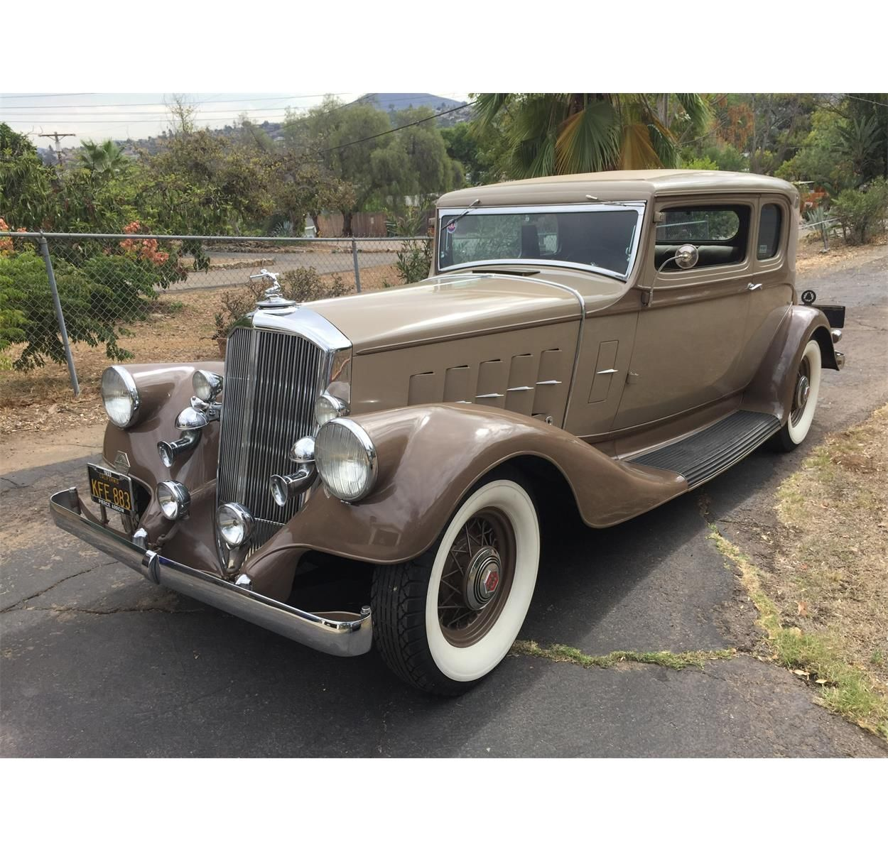 33 Pierce Arrow 1236 A Beautiful Car With A Cool Story In The
