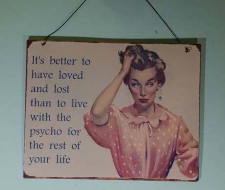 Pin By Linda Johnson Breudigam On O M G Funny Quotes Retro Metal Signs Vintage Humor
