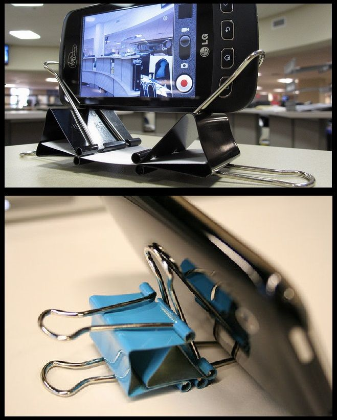 Need A Way To Prop Up Your Phone? Make Your Own Kickstand