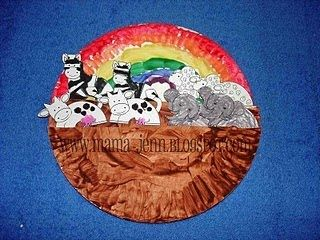 Noahs Ark Paper Plates