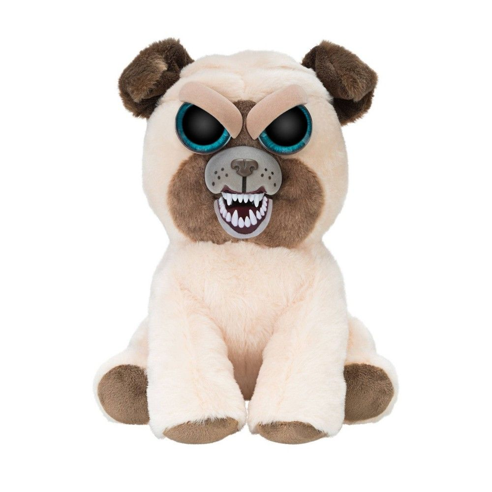 Feisty Pets Manny Macho Pug Pugs Unicorn Stuffed Animal Pets