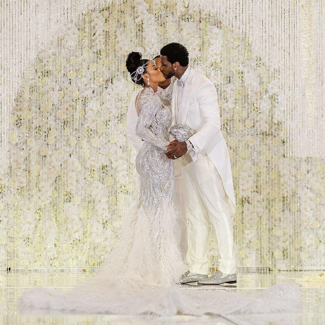 Gucci mane wife wedding dress  Pin by Bia on Wedding  Pinterest  Wedding Black bride and Weddings