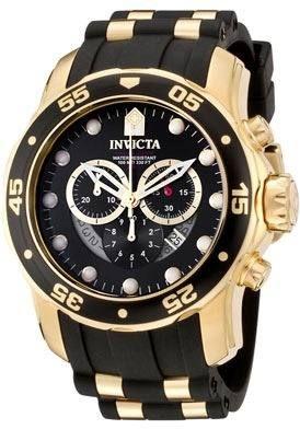 e3ab89d22a7 relógio invicta 6981 pro diver ouro 18k ! aventador import ...