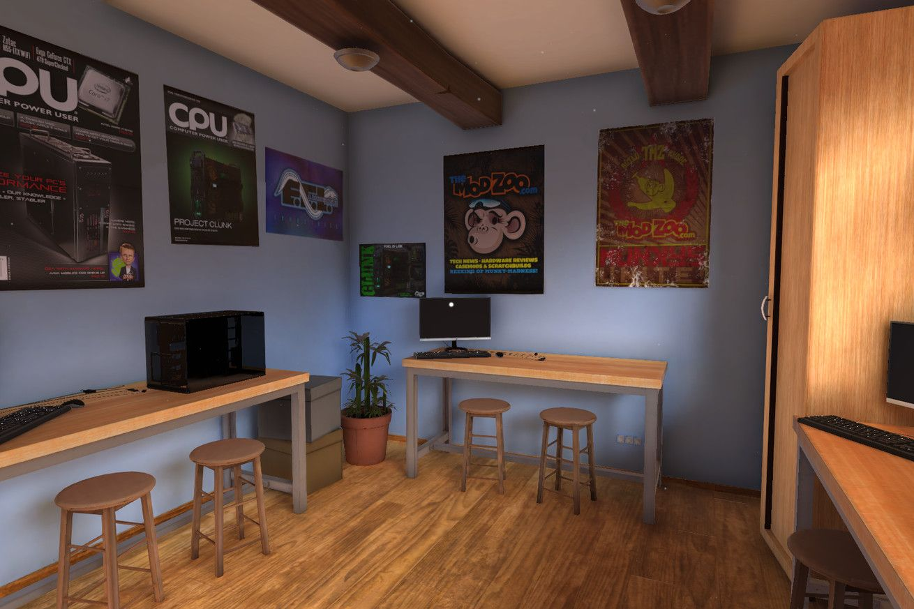 PC Building Simulator turns a complex hobby into goofy fun