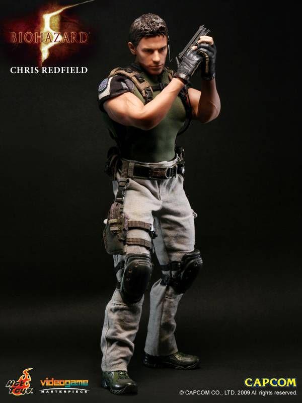 Hot Toys Resident Evil Chris Redfield 12 Figure Resident Evil