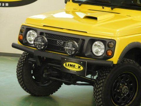 ジムニー フロントバンパー Line X塗装カスタム Suzuki Jimny Ja22 ジムニー Ja22 ジムニー ジムニー Ja11