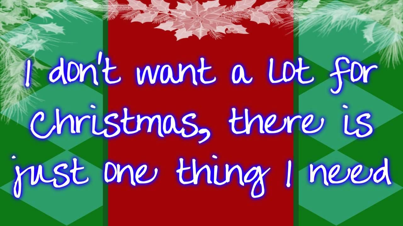 All I Want For Christmas Is You Mariah Carey Lyrics Mariah Carey Lyrics Christmas Music Videos Xmas Songs