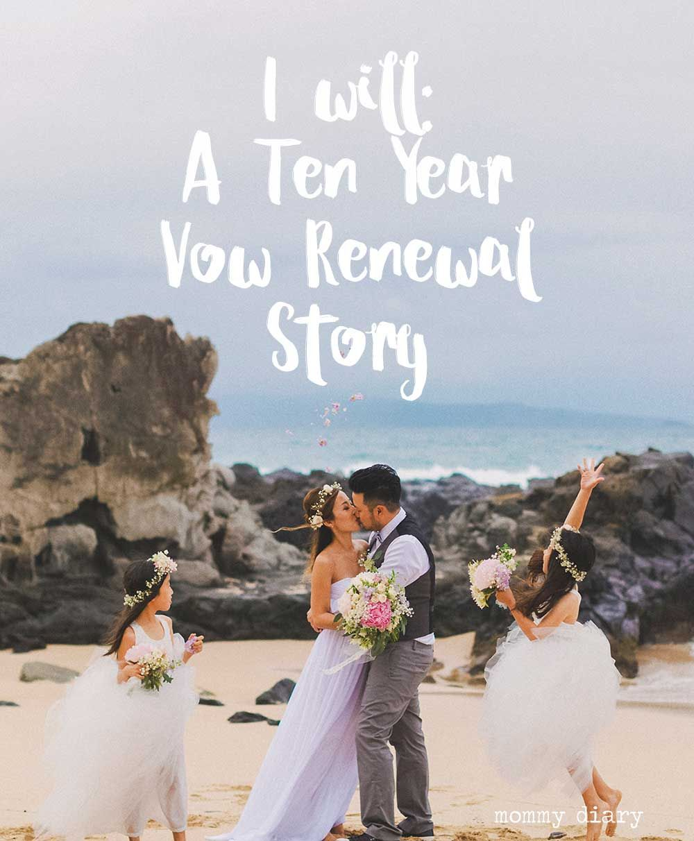 Romantic Places Renew Wedding Vows: I Will: Ten Year Vow Renewal In Maui