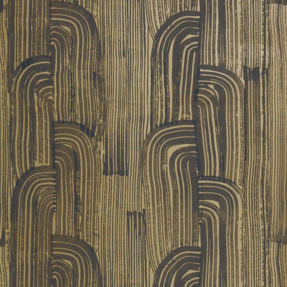 Crescent wallpaper Gold wallpaper, Kelly wearstler