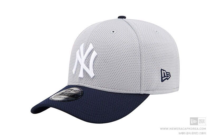 details new era york gray baseball streh cap hat tc