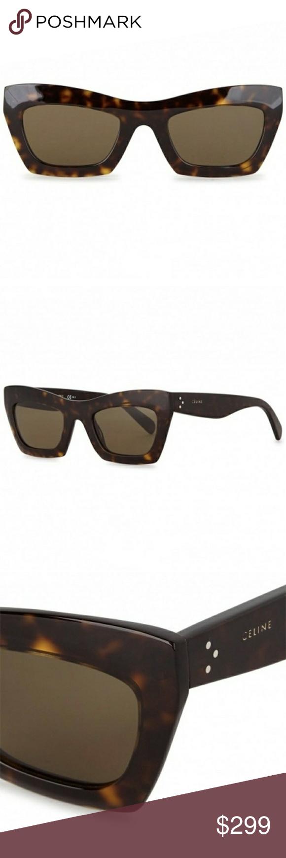 fdf63b2f238c Celine Eva Tortoiseshell Sunglasses New Céline Eva Sunglasses in the color  Tortoiseshell Acetate. 💯