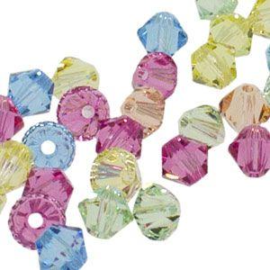 5328 4mm Swarovski Elements Crystal Mix - Sweet | Fusion Beads #inspirationinbloom