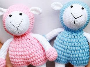 Amigurumi Nyuszik : Amigurumi sheep free pattern amigurumi pinterest amigurumi