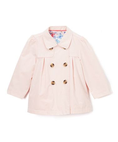 Loving this Light Pink Babydoll Jacket - Infant & Toddler on #zulily! #zulilyfinds