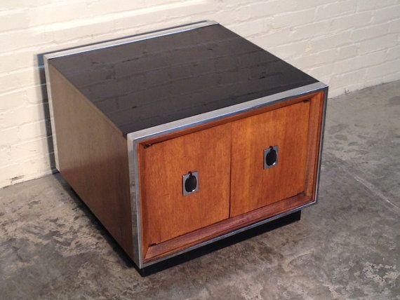 Best Mid Century Modern End Table Nightstand Sleek 1970 S 400 x 300