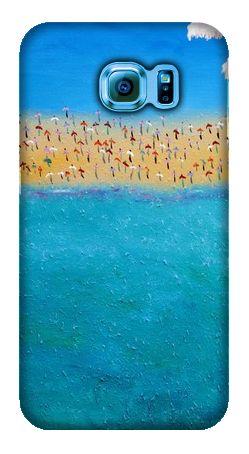 """Happy Holidays - Helen Joynson - Like My Case """"Summer Holiday Vibes"""" #samsungs6 #helenjoynson #summer #beach #blue #holiday #likemycase #likemystyle #artist"""