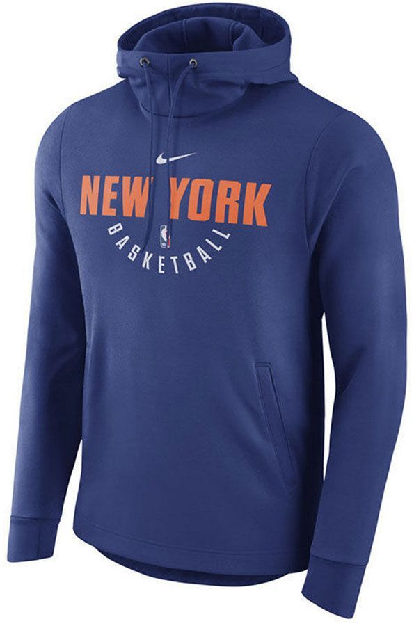 save off 020a5 0184d Nike Men's New York Knicks Practice Therma Hoodie | Products ...