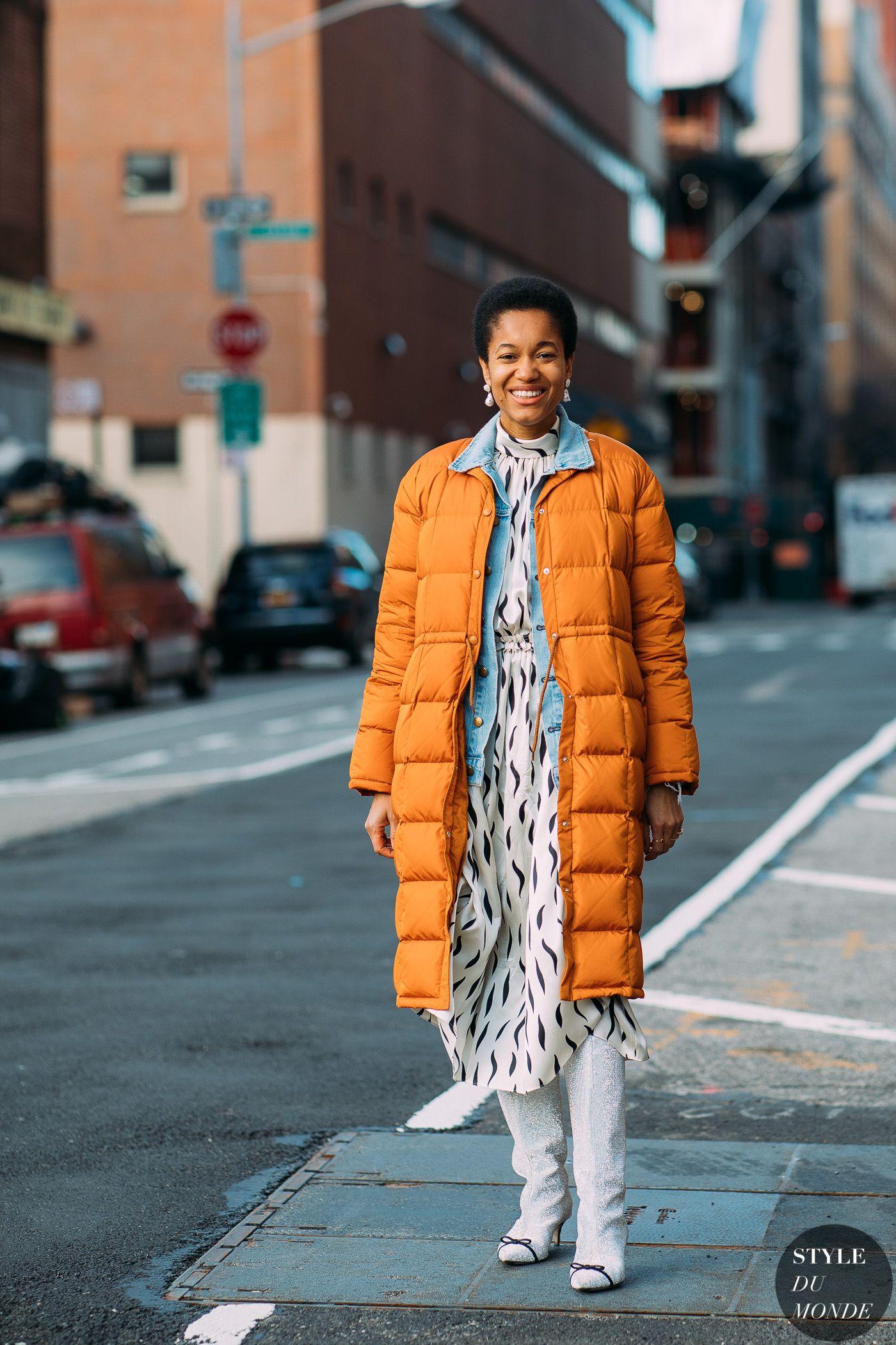 Tamu Mcpherson Blog.New York Fw 2018 Street Style Tamu Mcpherson Stylee
